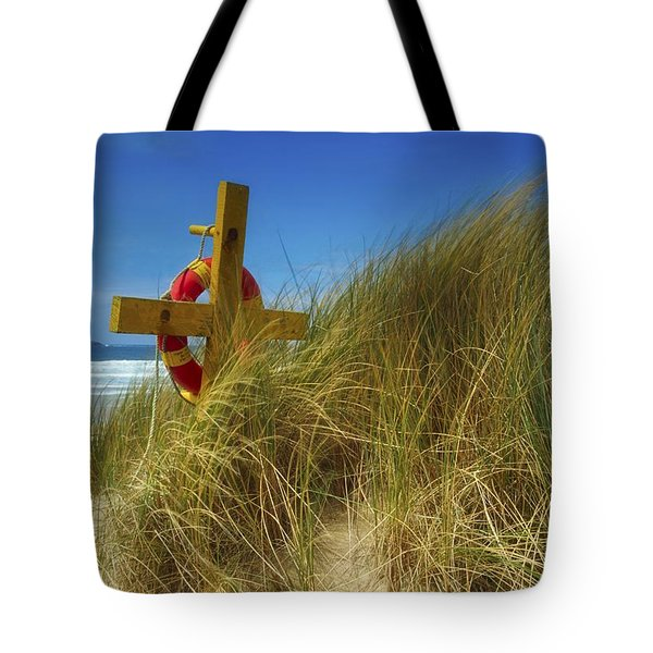 Co Down, Ireland Lifebelt Tote Bag by The Irish Image Collection