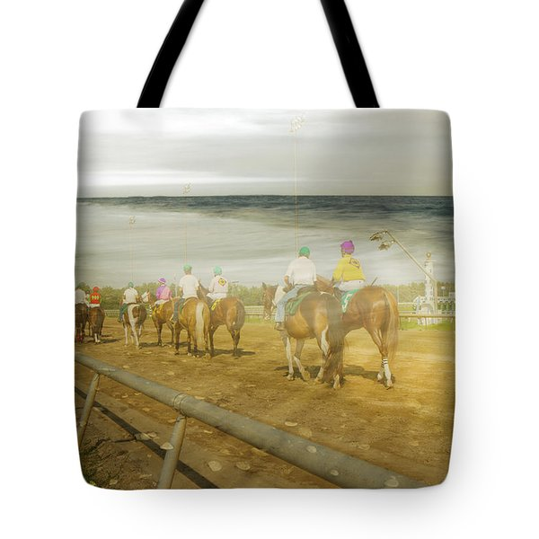 Coast Line Tote Bag by Betsy Knapp