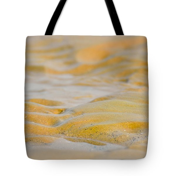 Coastal Abstract Tote Bag