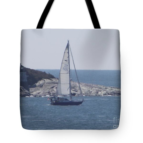 Coastal Newport Ri  Tote Bag