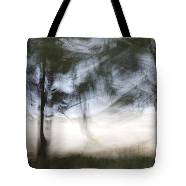 Coastal Pines Tote Bag by Carol Leigh