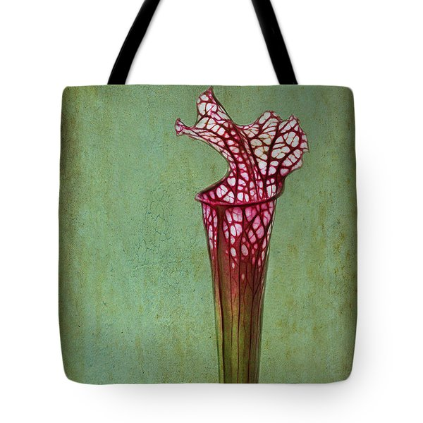 Cobra Lily Tote Bag by Judi Bagwell