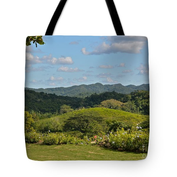 Cockpit Mountains Tote Bag