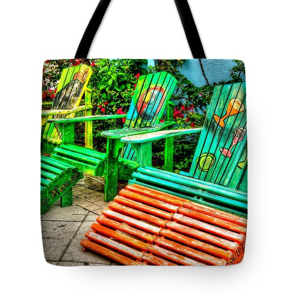 Cocktails Anyone Tote Bag by Debbi Granruth