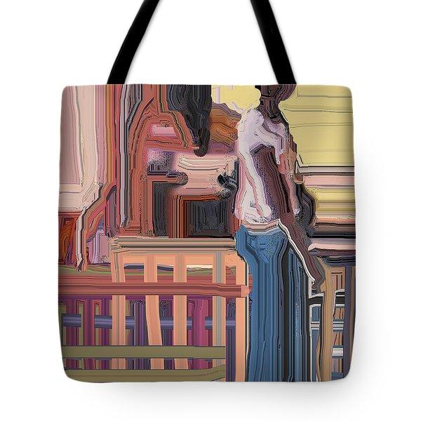Coconutman Tote Bag by Ian  MacDonald