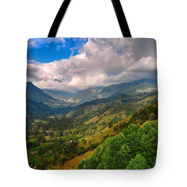 Cocora Valley Tote Bag by Skip Hunt