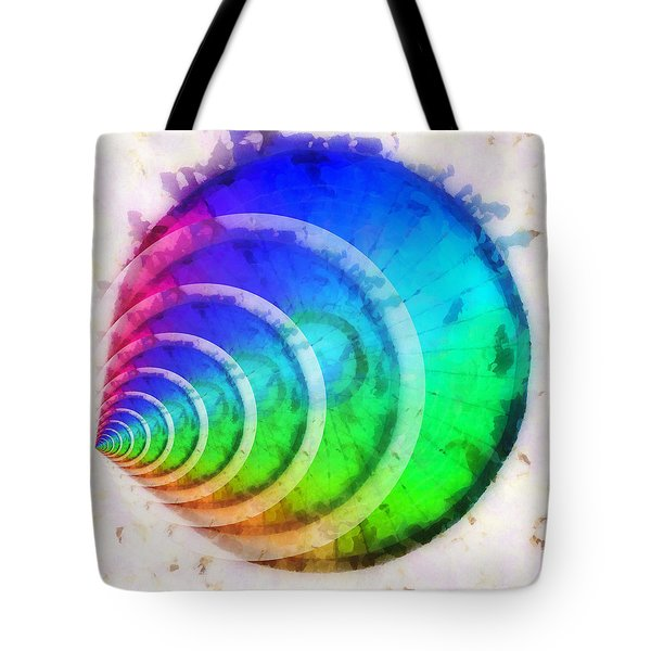 Code Of Colors 9 Tote Bag by Angelina Vick