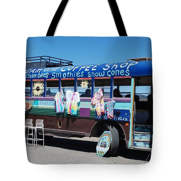 Coffee Bus Tote Bag by Dany Lison