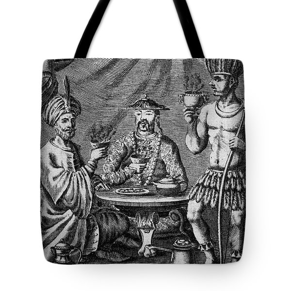 Coffee, Tea & Chocolate, 1685 Tote Bag by Granger