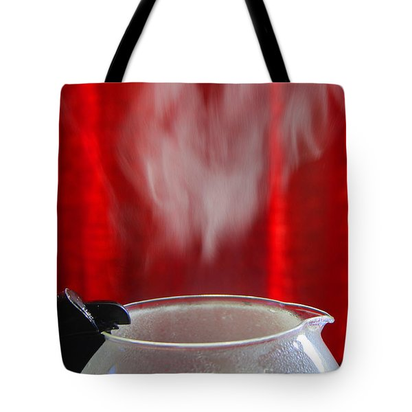 Coffee Time Tote Bag by Nareeta Martin