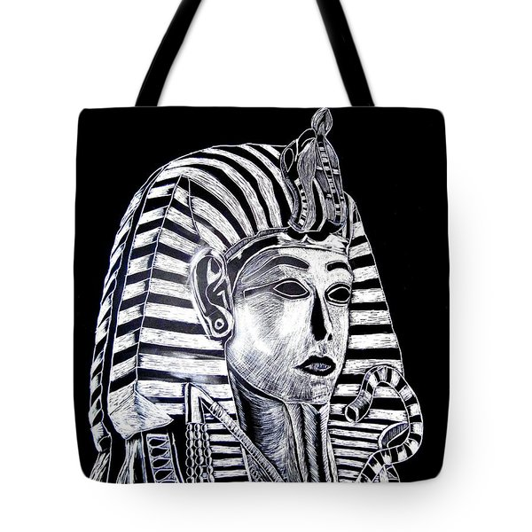Coffin Of The King Tote Bag