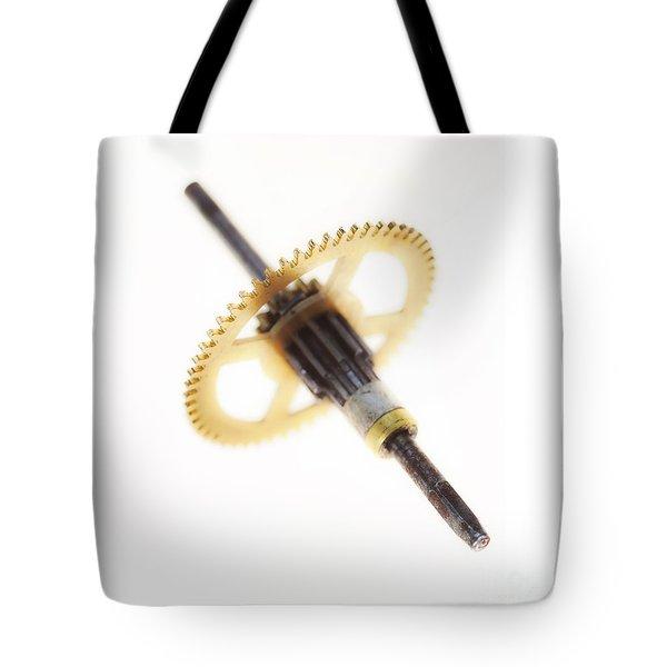 Cogwheel Tote Bag by Michal Boubin