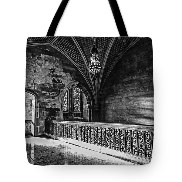 Cold Rock Warm Light Tote Bag