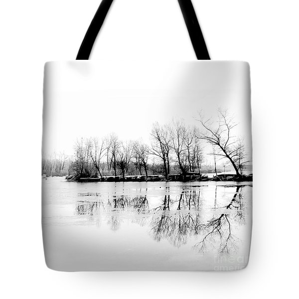 Cold Silence Tote Bag by Hannes Cmarits