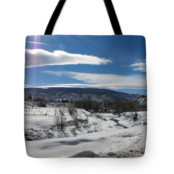 Cold Sun Tote Bag