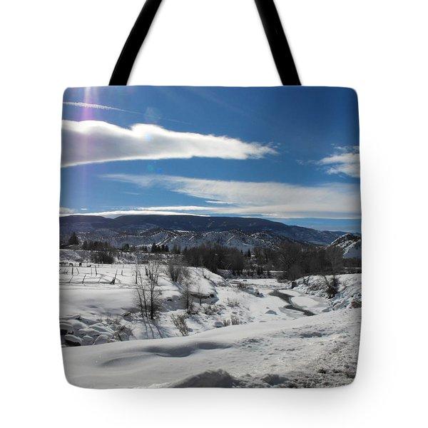 Cold Sun Tote Bag