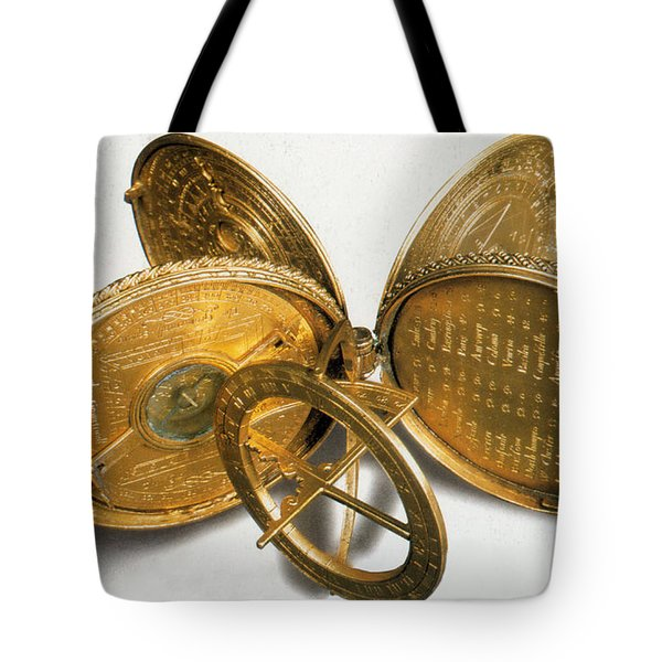 Cole Astronomical Compendium Dial, 1569 Tote Bag by Science Source