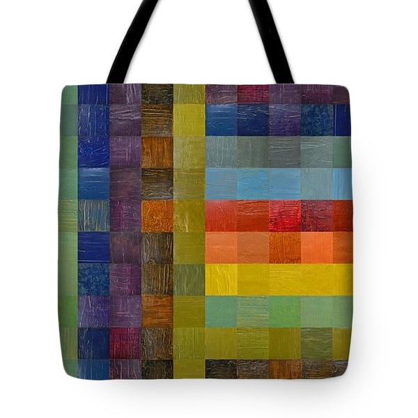 Collage Color Study Sketch Tote Bag