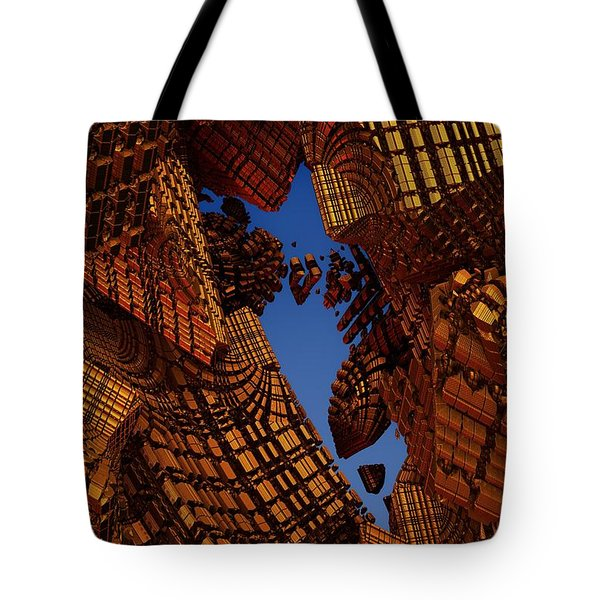 Collapse Tote Bag by Lyle Hatch