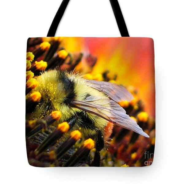 Collecting Pollen Tote Bag