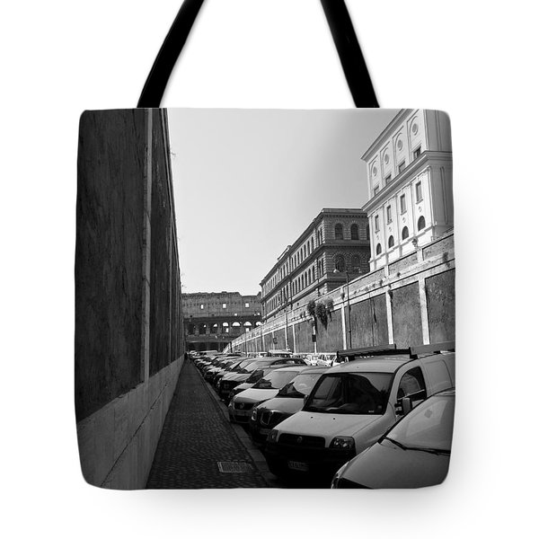 Tote Bag featuring the photograph Colliseum by Laurel Best