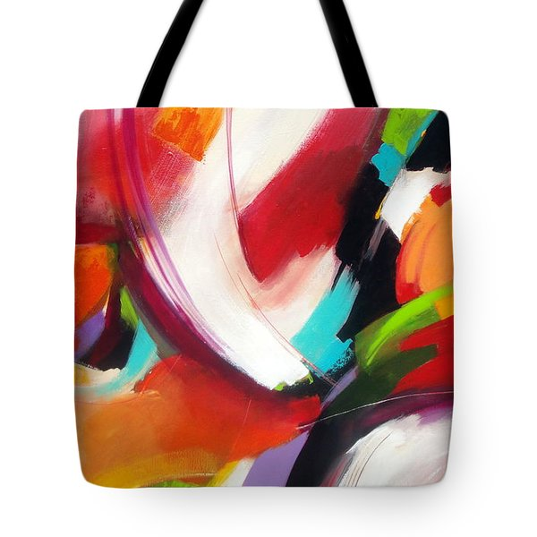 Collision Tote Bag