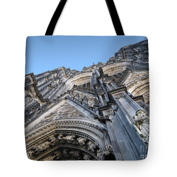Cologne Cathedral Tote Bag by Arlene Carmel