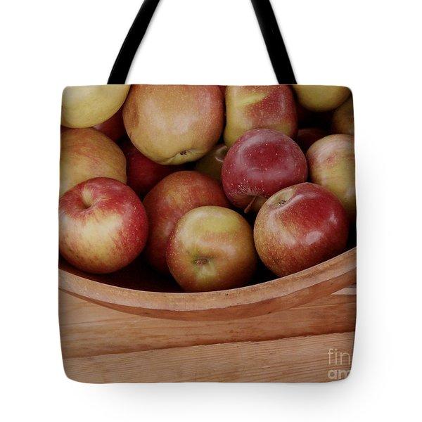 Colonial Apples Tote Bag