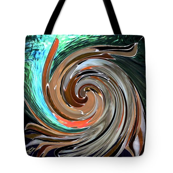 Color In Motion Tote Bag