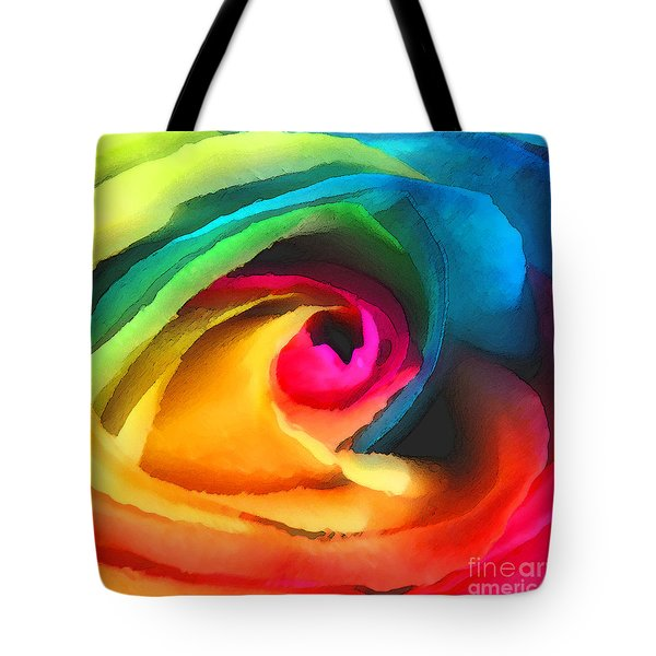 Color Launch Tote Bag by ME Kozdron