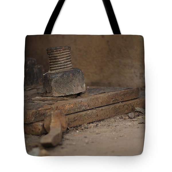 Tote Bag featuring the photograph Color Of Steel 1 by Fran Riley