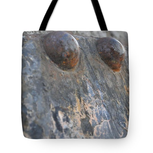 Tote Bag featuring the photograph Color Of Steel 7 by Fran Riley