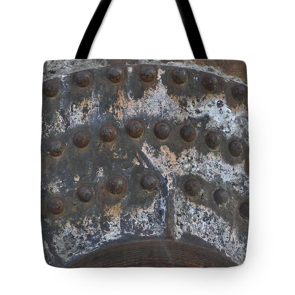 Tote Bag featuring the photograph Color Of Steel 7a by Fran Riley