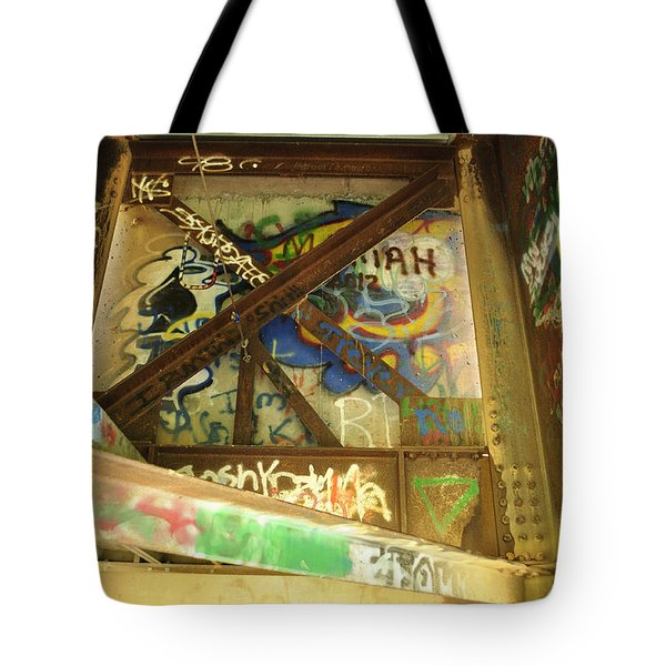 Tote Bag featuring the photograph Color Of Steel 8 by Fran Riley