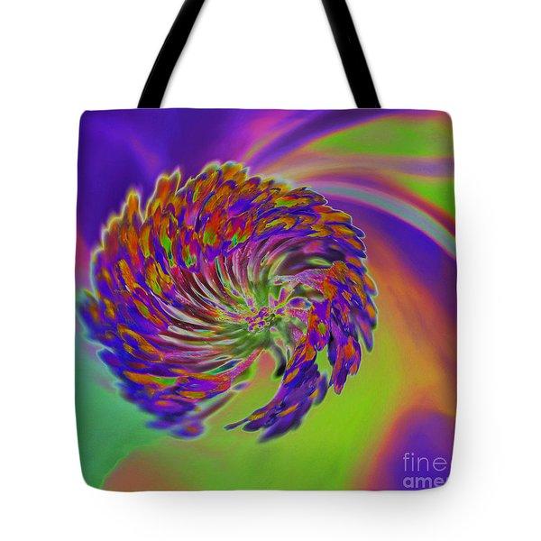 Color Splash Tote Bag by Cindy Manero