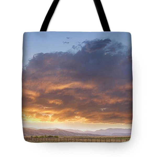 Colorado Evening Light Tote Bag by James BO  Insogna