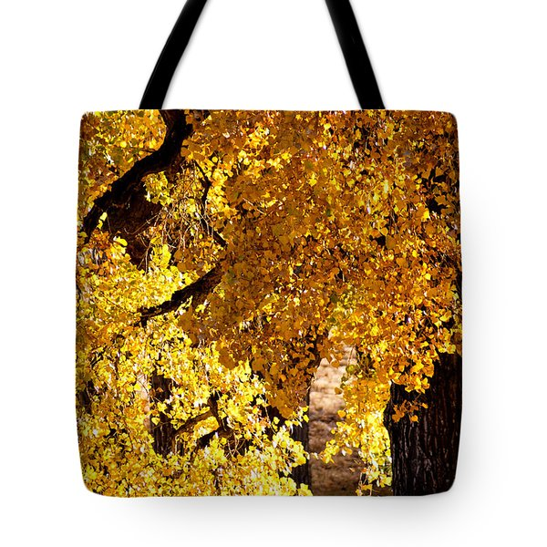 Colorado Gold Tote Bag