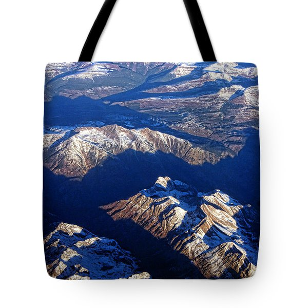 Colorado Rocky Mountains Planet Earth Tote Bag by James BO  Insogna