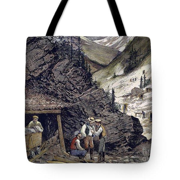 Colorado Silver Mines, 1874 Tote Bag by Granger