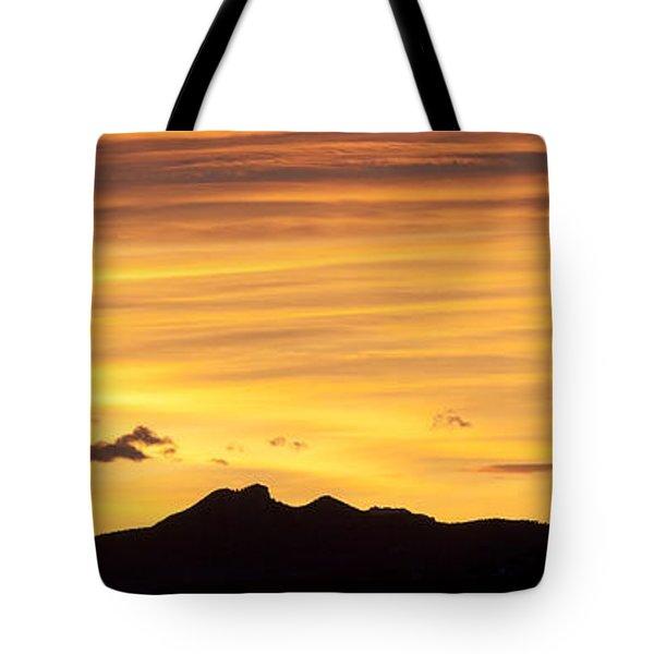 Colorado Sunrise Landscape Tote Bag by Beth Riser