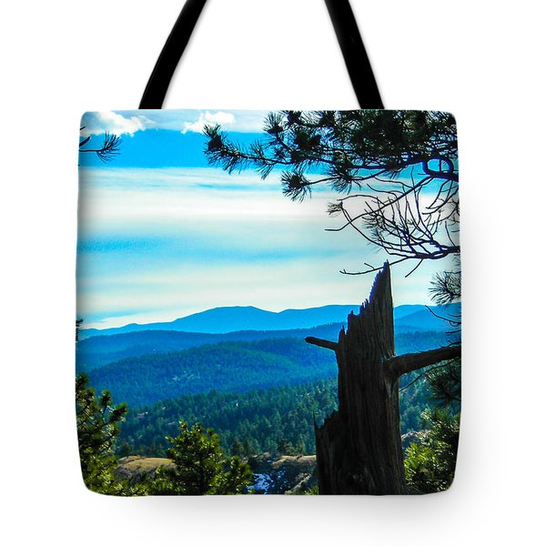 Tote Bag featuring the photograph Colorado View by Shannon Harrington
