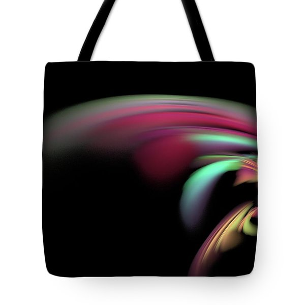 Tote Bag featuring the digital art Colorful Flash by Ester  Rogers