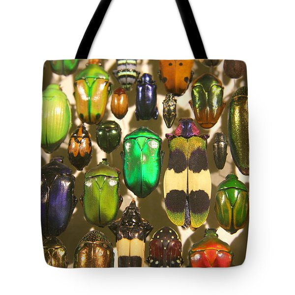 Tote Bag featuring the photograph Colorful Insects by Brooke T Ryan
