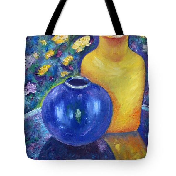 Colorful Jars Tote Bag