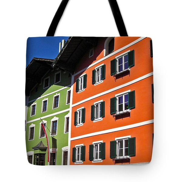 Colorful Kitzbuehel - Austria Tote Bag by Juergen Weiss