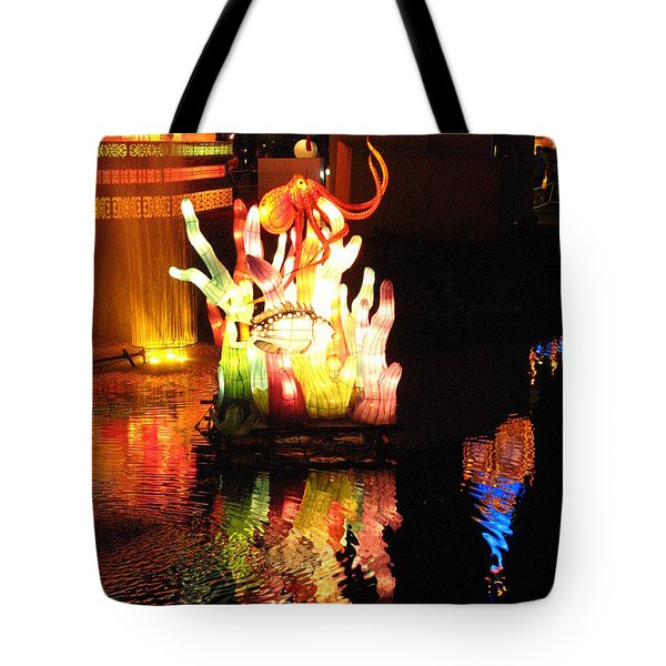 Colorful Reflection  Tote Bag