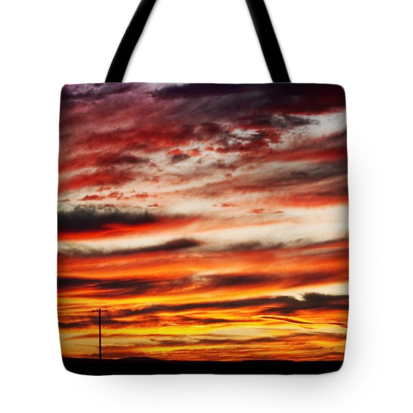 Colorful Rural Country Sunrise Tote Bag by James BO  Insogna