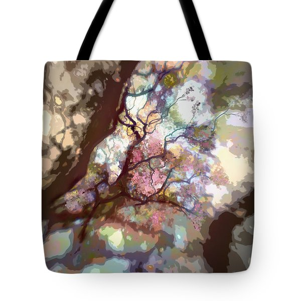 Colorful Tree Tote Bag by Diane Dugas