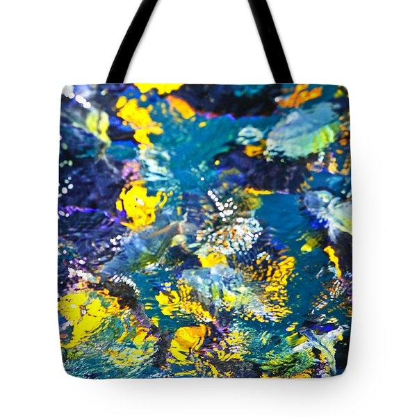 Colorful Tropical Fish Tote Bag
