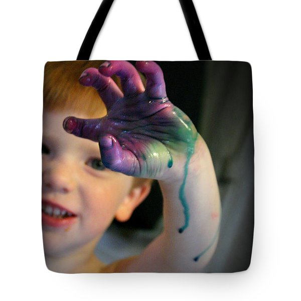Colorful Trouble Tote Bag